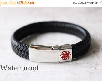 Summer Sale Medical ID Bracelet- Medical Alert-