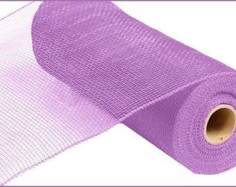 """10"""" Lavender Deco Mesh RE130213, Lavender Deco Poly RE130213, Narrow Lavender Deco Mesh RE130213"""