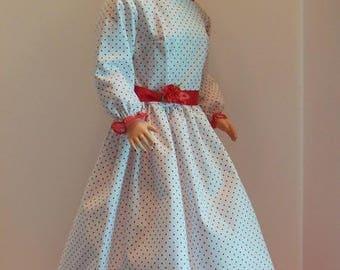 """Red Polka-dot Dress Set for 28"""" Darling Debbie Dolls"""
