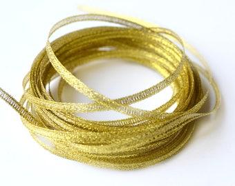 10 m 3 mm organza Ribbon