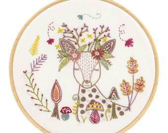 Embroidery Kit DOE, oh my deer!