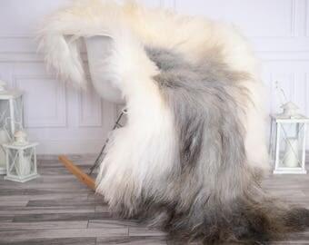 Icelandic Sheepskin | Real Sheepskin Rug | I Gray Sheepskin Rug | Fur Rug | Christmas Decorations #novisl2