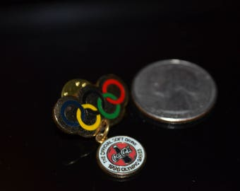 Vintage Coca Cola Official Sponsor Atlanta Olympics Lapel Pin