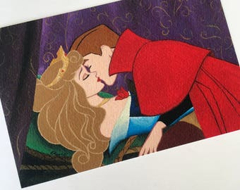 Sleeping Beauty Kiss PRINT