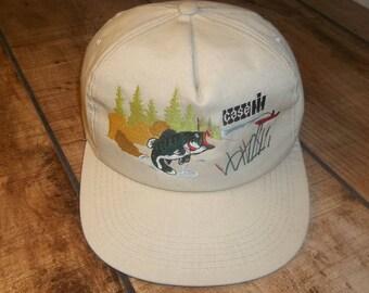 Case Tractors Bass Fishing Trucker Cap, Co-Op, Grain Elevator, Farmer, Snapback Hat, snap back baseball, Farm, Minnesota, John Deere