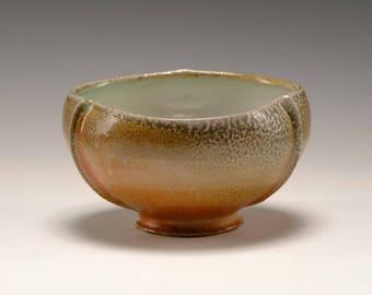 Soda fired bowl