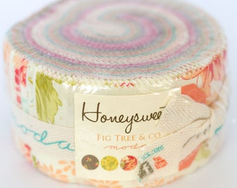 Honeysweet by Fig Tree Quilts for Moda Jelly Roll OOP HTF