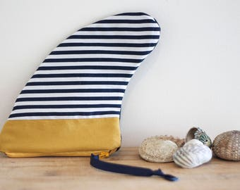Surf Sailor Fin Bag with recycled materials