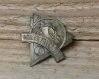 Squaw Valley USA bronze pin