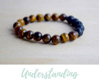 Tigers Eye Bracelet / balance bracelet, best selling items, nature inspired, meditation bracelets, energy bracelet, tiger eye bracelet