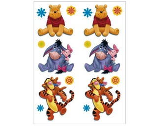 Winnie the Pooh Temporary Tattoos