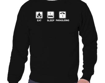 Eat Sleep Paragliding Sweatshirt