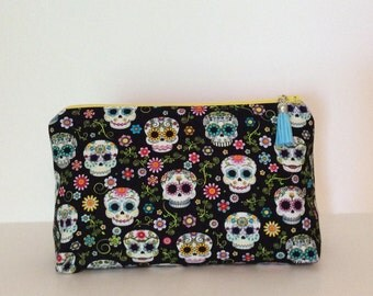 Cosmetic Bag - Sugar Skulls