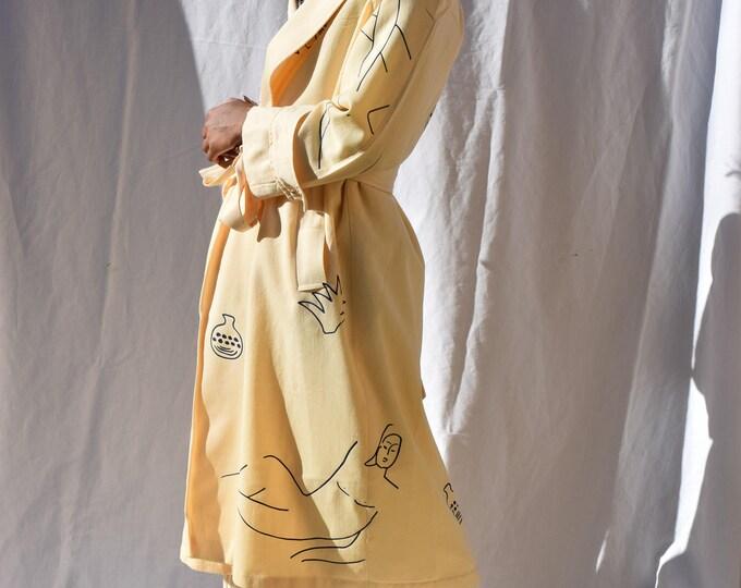 Wilson Virgin Wool Buttercream Swingcoat