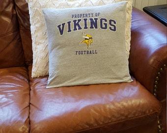 Minnesota Viking Pillow Cover