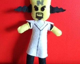 Handmade Crash Bandicoot Dr Cortex Plush
