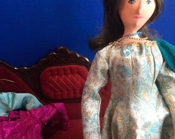 Handmade Cloth Doll Diane