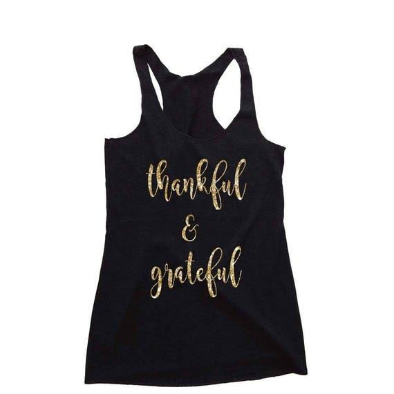 Thanksgiving Shirt, Holiday Shirt, Thankful Shirt, Thankful Grateful Blessed, Christmas Shirt, Christmas Pajamas, Gift for Women, Grateful