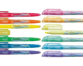 Pilot FriXion Light Ink Erasable Highlighter, Choose from 12 colors, ATG009