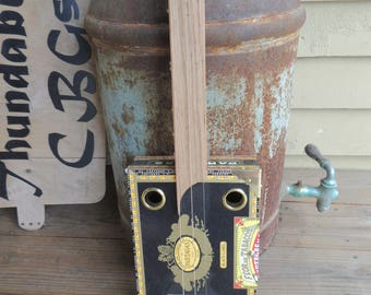 Custom 3 string Cigar Box Guitar