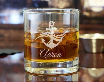 Custom Rocks Glass | Whiskey Glass | Scotch Glass | Custom Gift | Engraved Glass | Personalized Glass | Cocktail Glass | Gift for Him