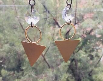 Earrings/Golden Earrings/brass/ethnic EARRINGSS/ethnic earrings