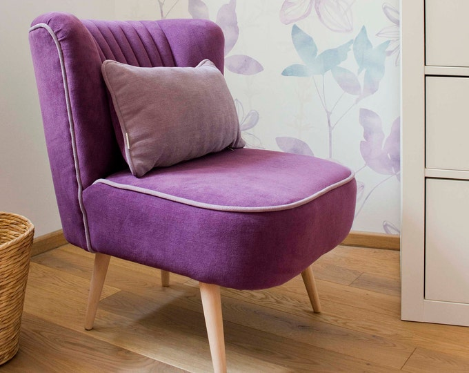 Isabel Mid Century Upcycled Armchair