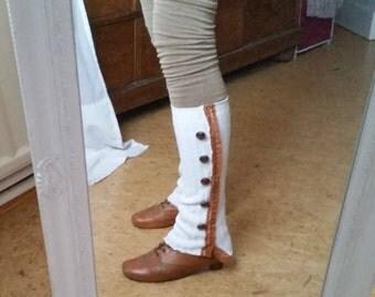 Leg warmers / leg warmers unique one size