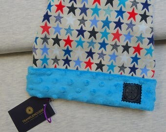 Hat pattern child colored stars