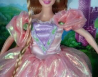 Mattel Barbie as Rapunzel Vintage Rapunzel doll New in box