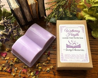 Wuthering Heights Bar Soap - Library Gift, Book Themed Wedding - Natural Soap