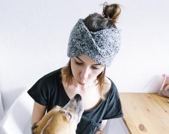 Turban Headband | Knit Turban Headband | Twisted Earwarmer | Knitted Headband | Winter Headband | Chunky Knit Headband | Ready For Shipping