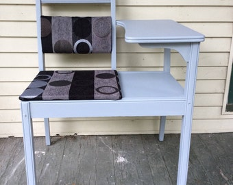 Vintage Upcycled Phone/Gossip Table