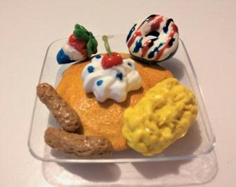 AG Doll Food, Breakfast fits American Girl Doll, Deluxe Breakfast fits American Girl Doll Food, Doll Dessert, Doll Food, BJD