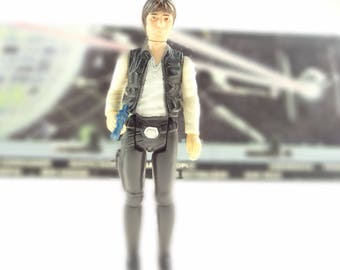 Han Solo Large Head Vintage Star Wars Action Figure