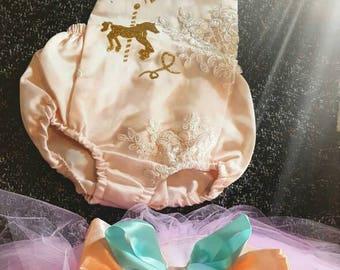 First birthday unicorn romper tutu set!!