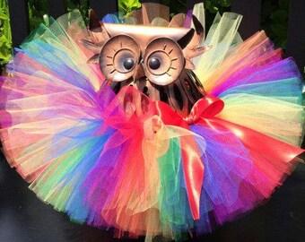 Rainbow Tutu, Baby Tutu, Infant Tutu, Newborn Tutu, 1st Birthday Tutu, Birthday Tutu, First Birthday Tutu, Cake Smash Tutu, Tutu Skirt, Tutu
