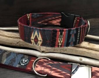 Aztec Dog Collar, Navajo Dog Collar, Bohemian dog Collar, Boho Dog Collar