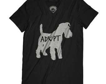 Fathers day shirt  adopt t-shirt animals t-shirt save animals t-shirt dog t-shirt dog person gift new dog dad APV2