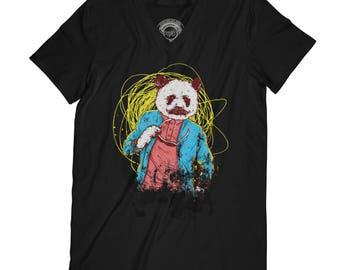 Bear t-shirt hipster t-shirt mustache t-shirt beard t-shirt funny t-shirt annimal t-shirt fathers day shirt husband gift dad gift AP68