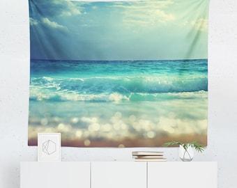 Merveilleux Beach Tapestry | Beach Wall Tapestry | Beach Wall Décor | Beach Gift | Beach  Wall