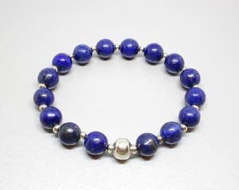 Anxiety bracelet, protection bracelet, energy healing, lapis lazuli bracelet, calming bracelet, energy crystal, crystal healing bracelet
