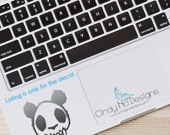 Panda Zombie Skull Decal / Sticker - Macbooks, iPhones, Android, Laptops, Windows