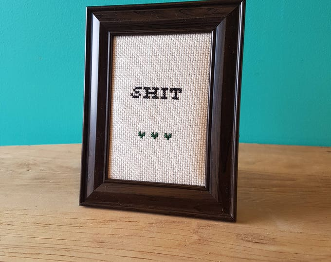 Crassstitches - Shit - Handmade in Toronto