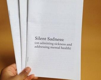 Silent Sadness: Mental Health Zine