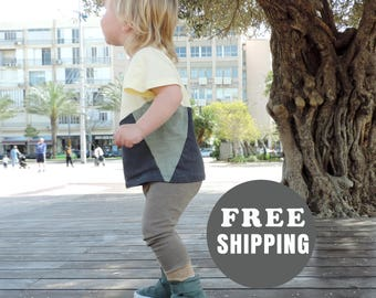 FREE SHIPPING || Toddlers Leggings || Baby Unisex Leggings || Toddlers Fall Clothing || Toddlers Pants || Size 12M to 3T- By PetitWild
