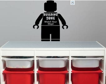 lego decal, lego playroom decal, boys room, girls room, playroom
