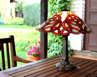 Celtic tiffany lamp