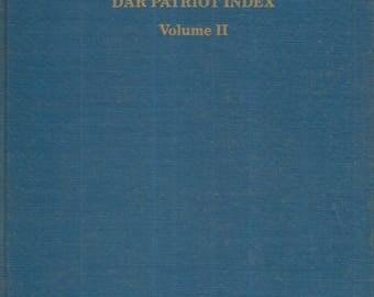 DAR Patriot Index Vol 2 1980 Hardcover