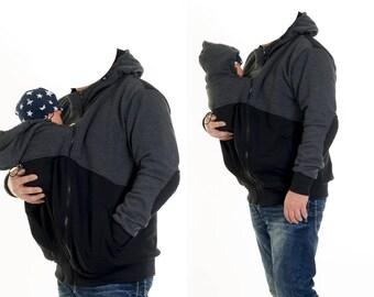 Babywearing 2in1 Wear jacket for men/Papa Jacket